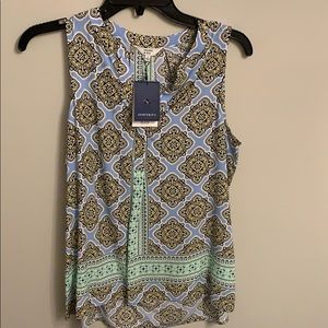 Crown and ivy blouse NWT